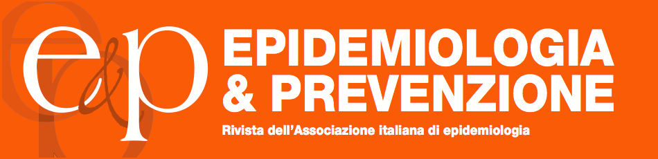 Epidemiologia & Prevenzione